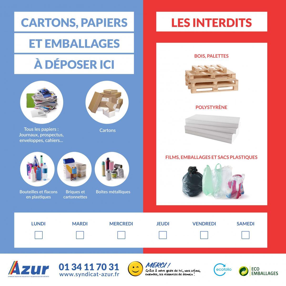 Espace entreprises syndicat azur for Des cartons pour demenager